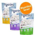 Pakiet próbny Tigerino Crystals żwirek dla kota, 3 różne rodzaje