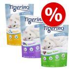 Pakiet próbny Tigerino Crystals żwirek dla kota, 3 różne rodzaje w super cenie!