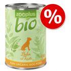 Pakiet próbny zooplus Bio, 6 x 400 g w super cenie!