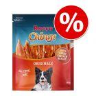 Pakiet Rocco Chings Originals mięsne paski do żucia