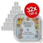 Pakiet Rosie's Farm Senior, 32 x 100 g