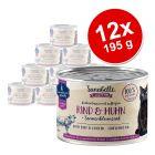 Pakiet Sanabelle All Meat, 12 x 195 g