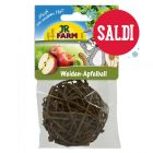 Palla  Mr. Woodfield  in rami di salice e con snack