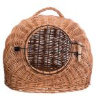 Panier de transport en osier naturel Trixie