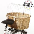 Panier de transport pour vélo Aumüller avec grille de protection