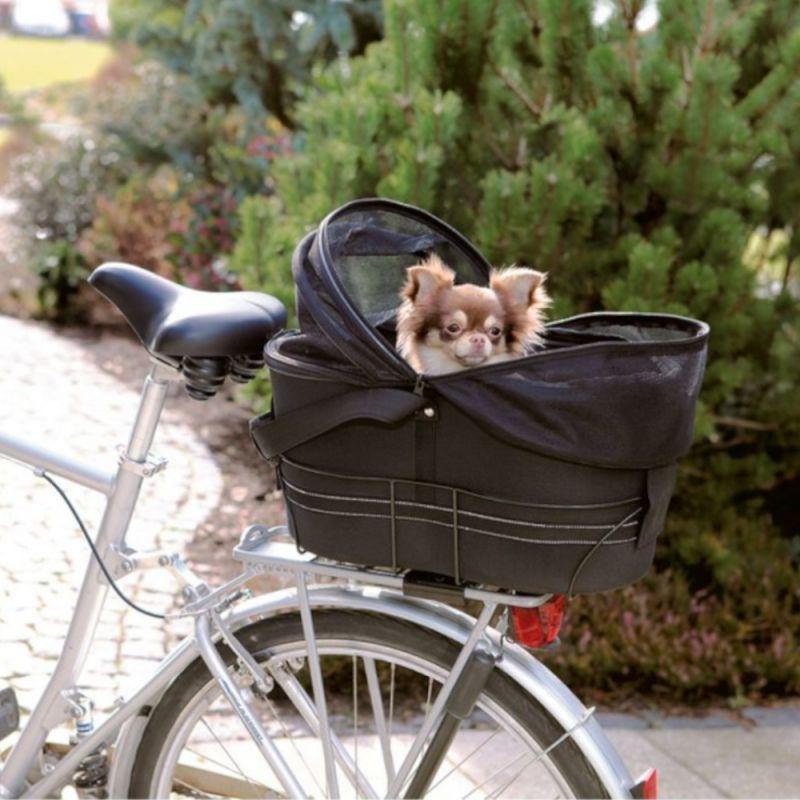 Panier de transport pour vélo Trixie Friends on Tour pour chien