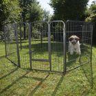 Parque metálico para cachorros y mascotas