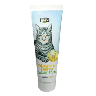 Pasta Grau Cat Care Plus alle erbe per stomaco/intestino