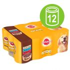 Pedigree Adult Selection -monipakkaus 12 x 400 g