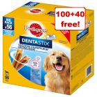 Pedigree Dentastix Daily Oral Care - 100 + 40 Free!*