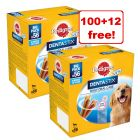 Pedigree Dentastix/ Fresh - 100 + 12 Free!*