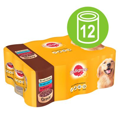 Pedigree Adult Selection Multipack 12 x 400g