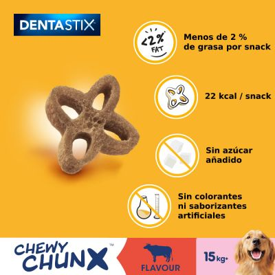 Pedigree Dentastix Chewy Chunx snacks para perros
