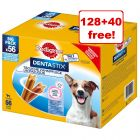 Pedigree Dentastix Daily Oral Care/ Fresh - 128 + 40 Free!*