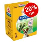 Pedigree Dentastix Dog Treats - 20% Off!*