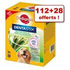 Pedigree Dentastix 112 friandises + 28 friandises offertes