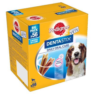 Pedigree Dentastix: 56 Regular & 28 Fresh - Bundle Pack!*