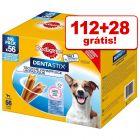 Pedigree DentaStix 140 uds. em promoção: 112 + 28 grátis!