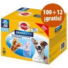 Pedigree Dentastix 112 uds. en oferta: 100 + 12 ¡gratis!