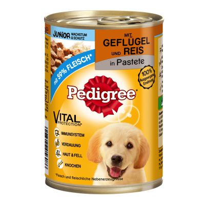 Pedigree Junior Classic Poultry & Rice