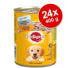 Pedigree Junior Classic 24 x 400 g