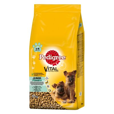 Pedigree Junior Maxi con pollo y arroz pienso para perros