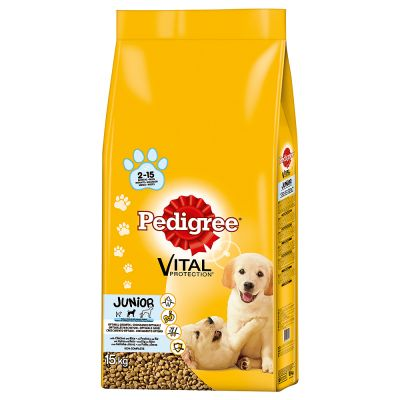 Pedigree Junior Medium Complete - Chicken & Rice