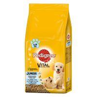 Pedigree Junior Medium mit Huhn & Reis Trockenfutter für Hunde