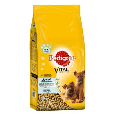 Pedigree Junior Vital Protection Maxi Pollo & Riso