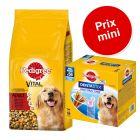 Pedigree 15 kg + 56 friandises Dentastix Maxi à prix spécial !