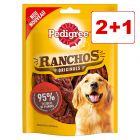 Pedigree koiranherkut 3 pakkausta: 2 + 1 kaupan päälle!