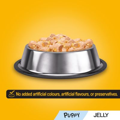 Pedigree Puppy Pouches Mixed Pack in Jelly