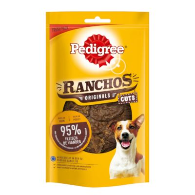 Pedigree Ranchos Originals Cuts snacks para perros