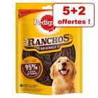 Pedigree Ranchos Originals 5 x 70 g pour chien + 2 friandises offertes !