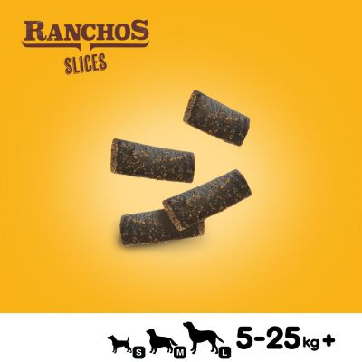 Pedigree Ranchos Slices Snackuri câini 60 g