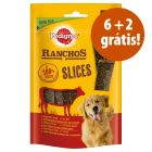 Pedigree Ranchos Slices 8 x 60 g em promoção: 6 + 2 grátis!