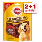 Pedigree snacks para cães em promoção: 2 + 1 grátis!