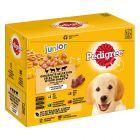 Pedigree Vital Junior portionsposer - blandet pakke