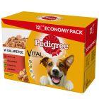 Pedigree Vital portionsposer - blandet pakke
