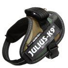 Peitoral JULIUS-K9 IDC® Power camuflado para cães