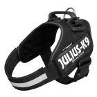 Peitoral JULIUS-K9 IDC® Power preto para cães