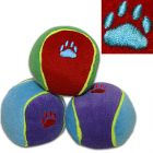 Pelotas Trixie de colores con sonido para perros