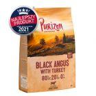 PEŁNOWARTOŚCIOWA RECEPTURA: Purizon Adult, wołowina Black-Angus i indyk, bez zbóż