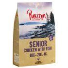 PEŁNOWARTOŚCIOWA RECEPTURA: Purizon Senior, kurczak i ryba, bez zbóż