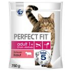 Perfect Fit Sterile Adult 1+ Riche en bœuf pour chat