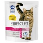 Perfect Fit Sterile Adult 1+ Riche en saumon pour chat