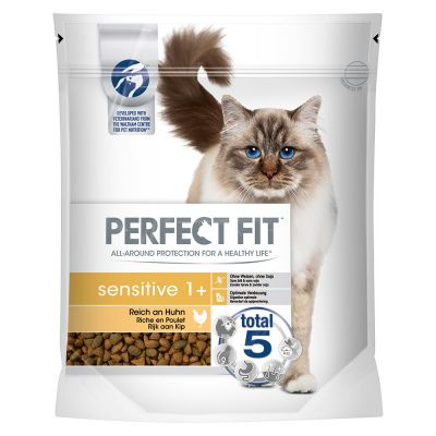 Perfect Fit Cat Dry Sensitiv 1+  s kuracím mäsom