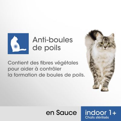 PERFECT FIT Indoor 1+ Chats stérilisés pour chat