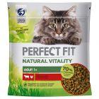 Perfect Fit Natural Vitality Adult 1+ Manzo & Pollo Crocchette per gatti