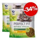 Perfect Fit Natural Vitality Adult 1+ pour chat 2 x 650 g : 34 % de remise !